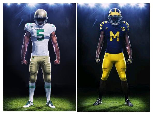 Notre Dame Uniform/Helmet Picture-12