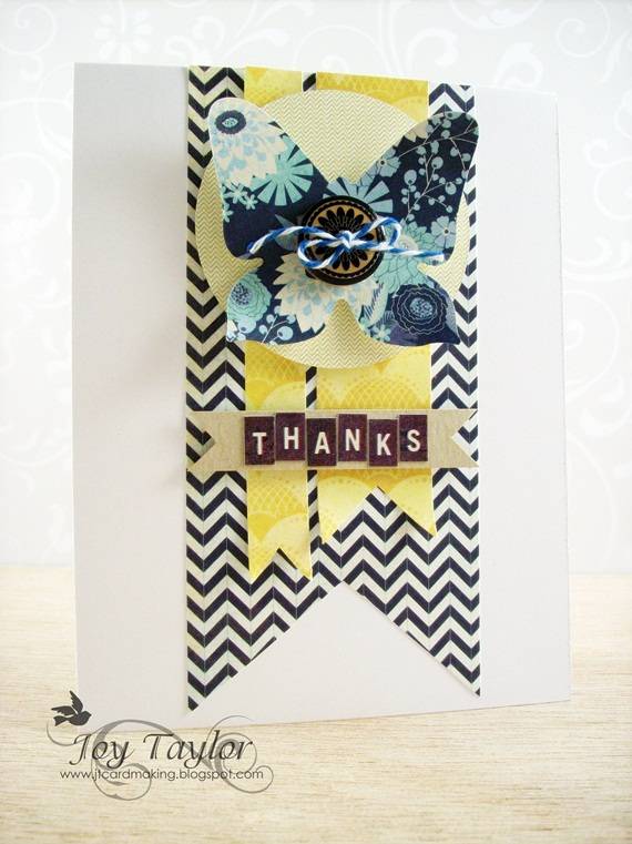 "24 augustus 2013 ""Thanks"" by Joy Taylor Bg-514"