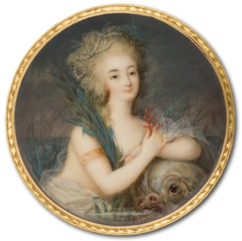 Marie-Antoinette in Art - Page 3 Marie-Antoinette-naked-miniature