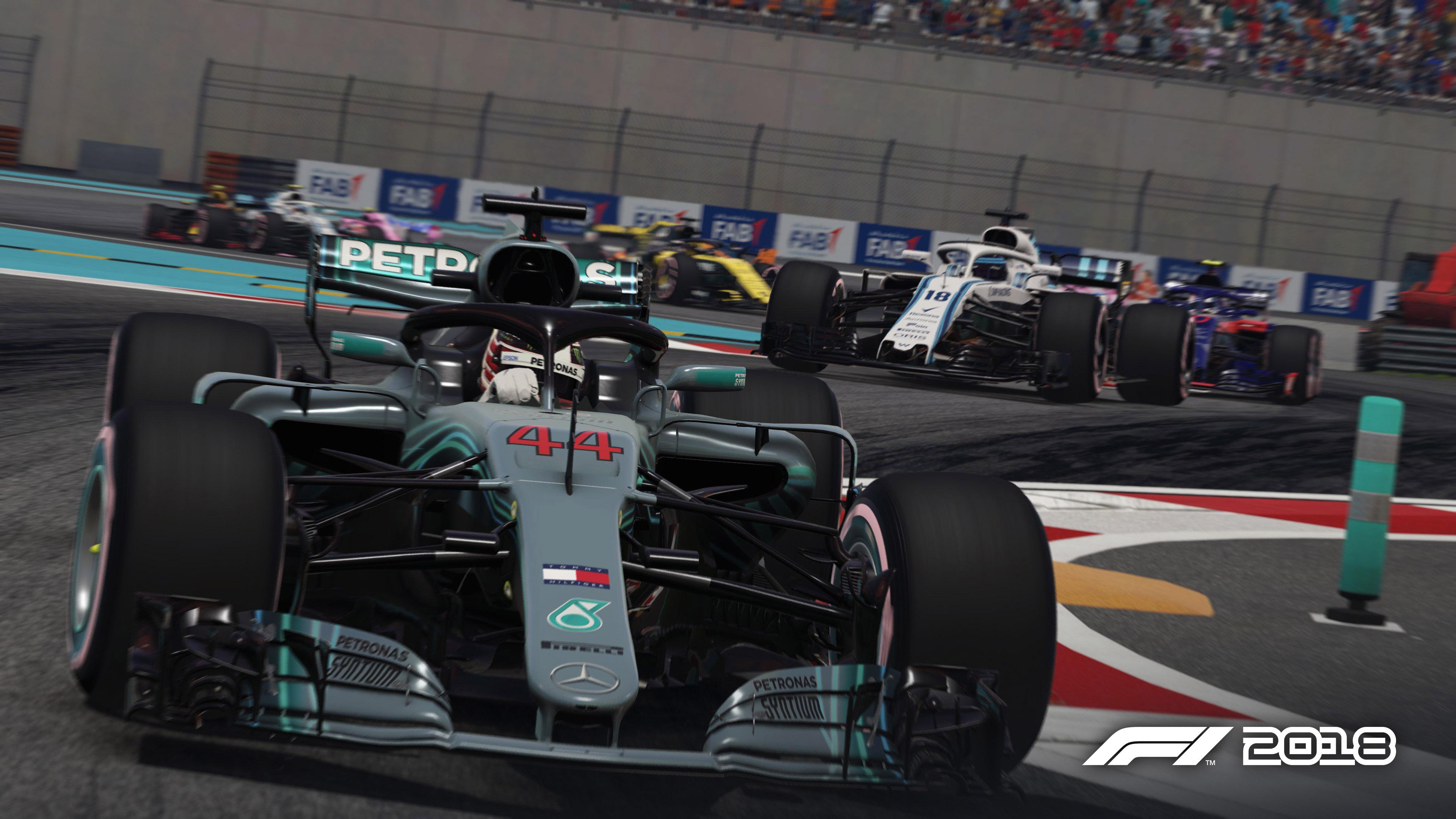 | F1 18 T.XXII | Despedida T.XXII y final de las carreras con el F1 2018 F1_2018_es_abu_dhabi_002