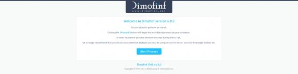 واجهة التنصيب الجديدة لبرنامج ديموفنف 4 لادارة المحتوى 111111111111111111111