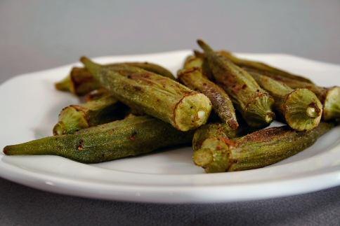 Le Calalou, un plat originaire de partout aux antilles ? Roasted-okra
