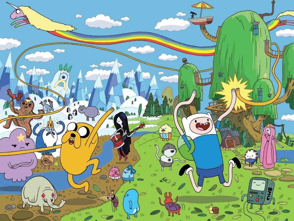 Animes e Animações Adventure-time-world
