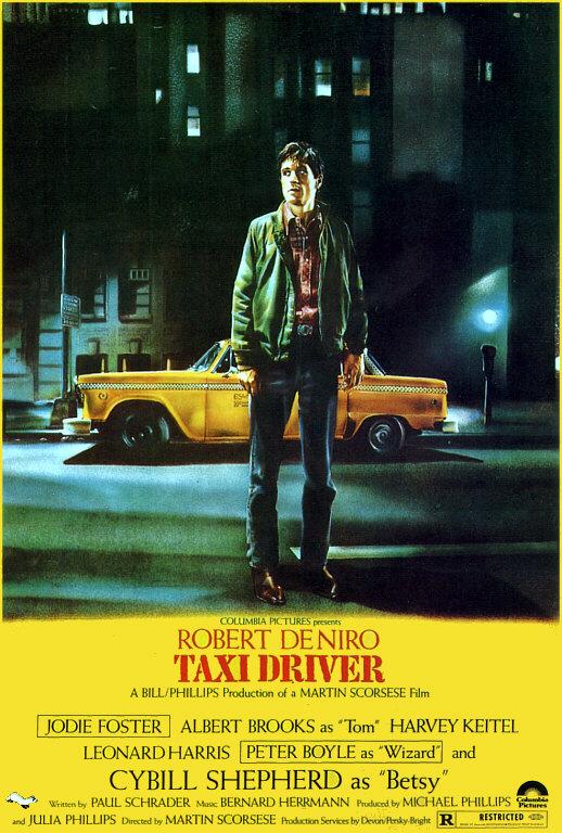 Tournoi de popularité film 1976-taxi-driver