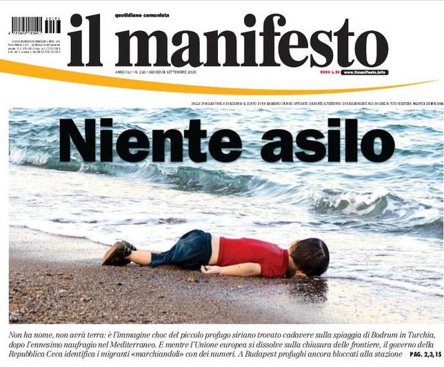 Io, stamattina, sto con il manifesto Manifesto
