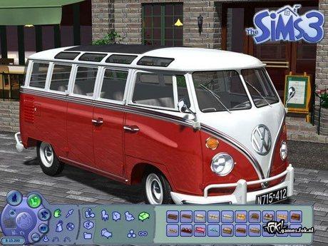 Recherche véhicule Sims3