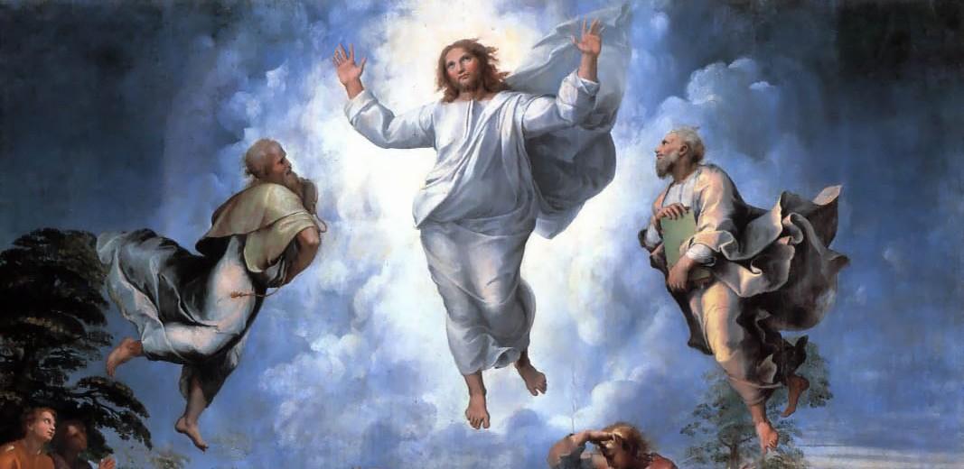 Voyage dans la cosmogonie des dieux - Page 15 Transfiguration_Raphael_vignette-e1330610418111