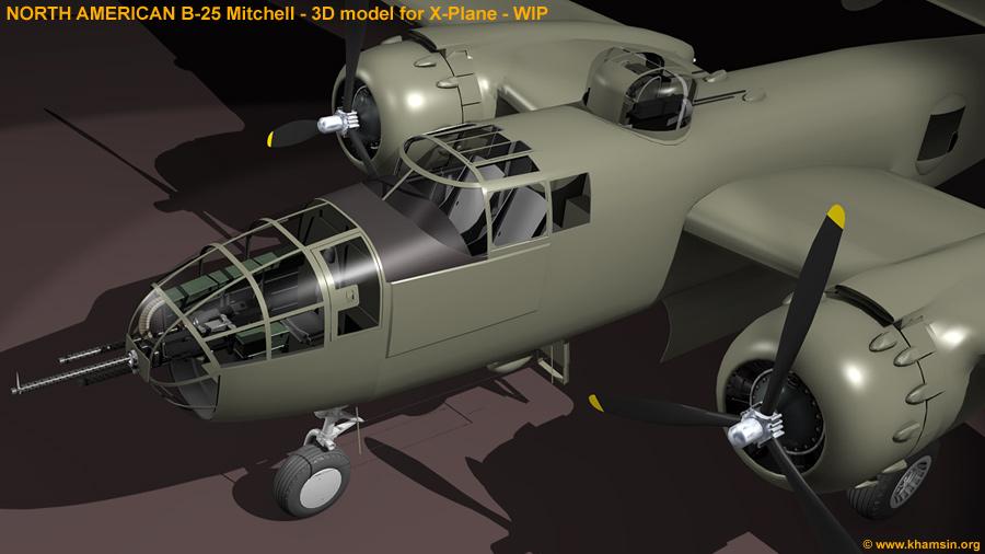 Museo Militar de  aviación. - Página 3 NorthAmericanB-25Mitchell_05