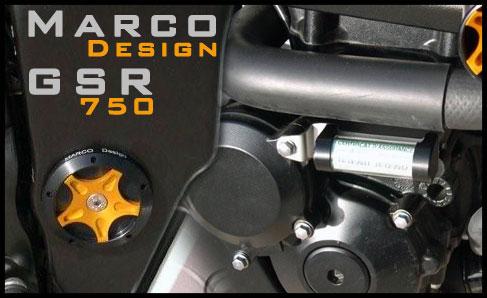 Bouchons de cadre rizoma  MarcoGSR750