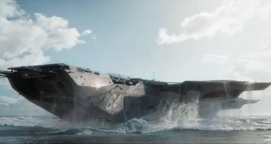 Avengers, L'héliporteur du SHIELD vole vraiment ! Helicarrier2