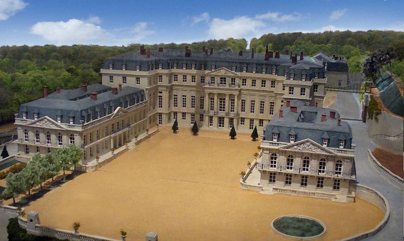 Exposition : 1870-1871, Saint-Cloud, l'année terrible Projet%20de%20reconstruction%20du%20chateau%20de%20saint%20cloud