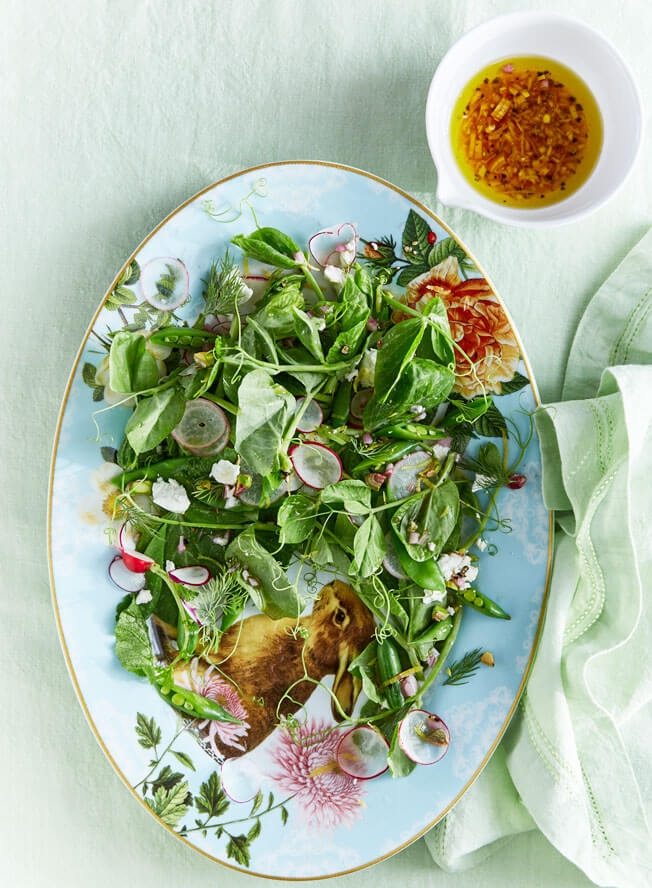 Host a Festive Brunch This Easter Spring-Pea-Salad