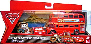 [La grande Récré] Promo 3 véhicules  Double_decker_bus_cars_2_pack