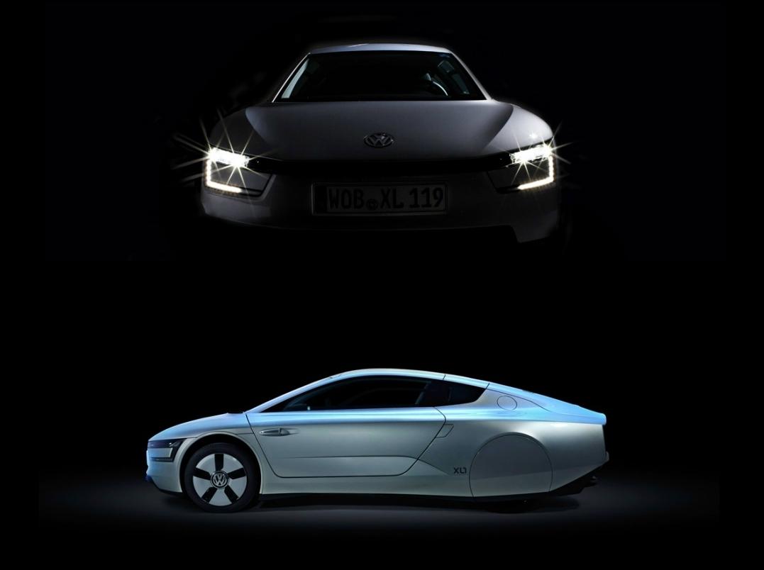 Projet barquette de course VW-XL1.1