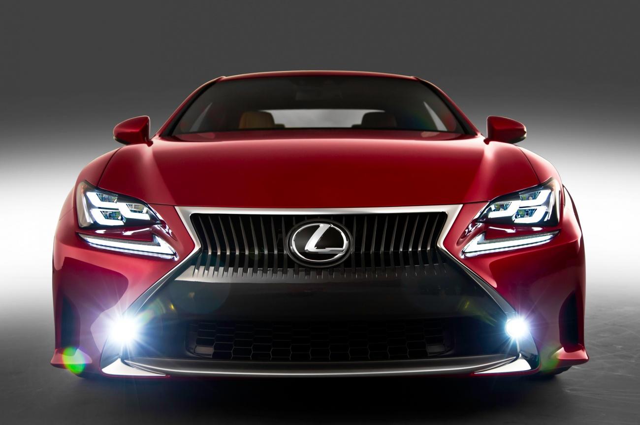 2014 - [Lexus] RC Coupé / RC-F - Page 2 2015-Lexus-RC-grille