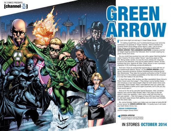 1 - [DC Comics] Green Arrow: discusión general 30360_big