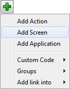 تحزيم تطبيقات الجافا الرسومية و إنشاء ملف تنصيب setup باستخدام install4j AddScreenMenuItem