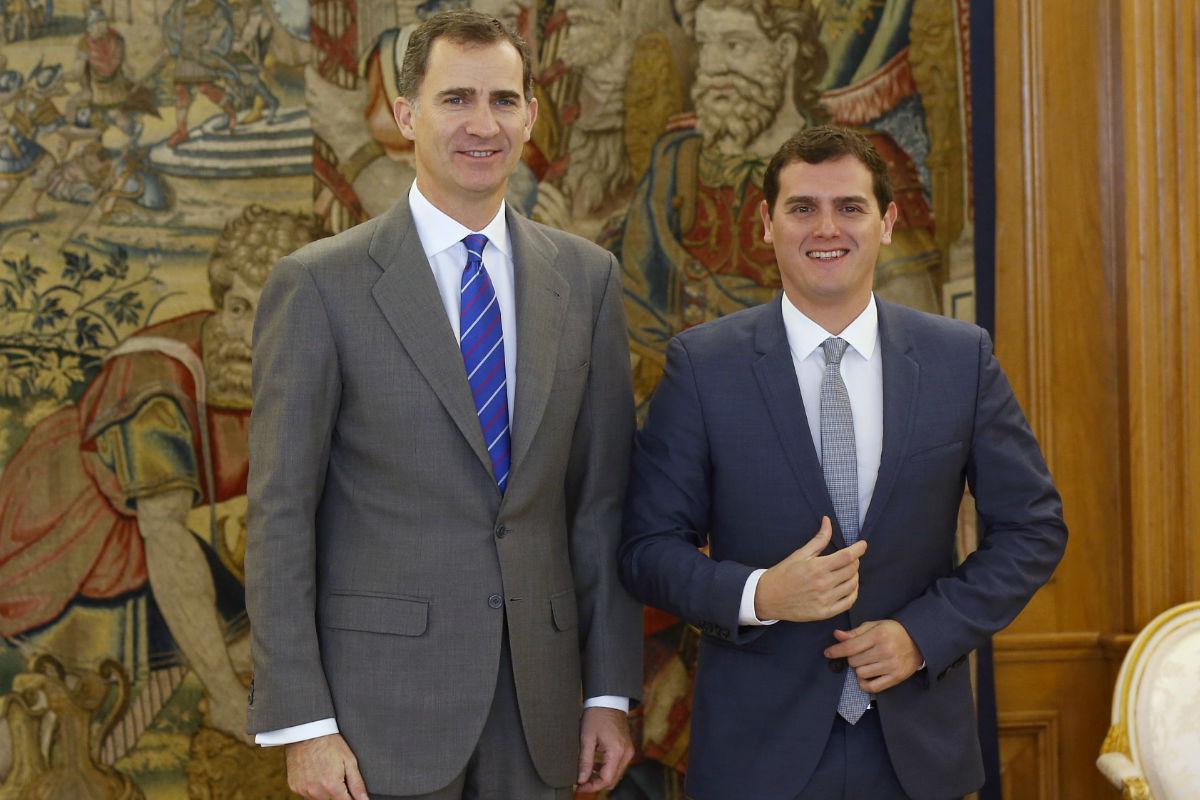 ¿Cuánto mide el Rey Felipe VI? - Altura - Real height Rivera-rey