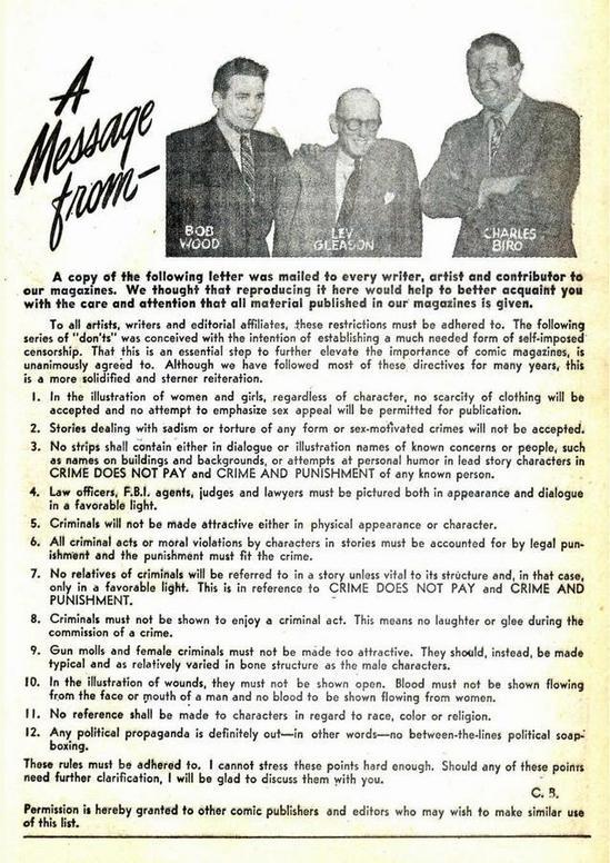 El Satánico Dr. Fredric Wertham y la historia del Comic Code Authority GleasonCode-thumb-550x776