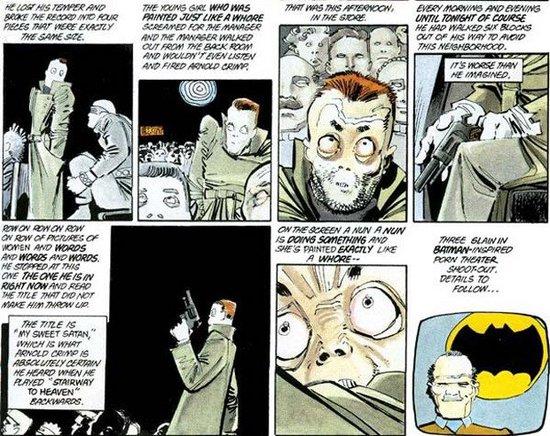 El Satánico Dr. Fredric Wertham y la historia del Comic Code Authority Comicsdarkknight-thumb-550x436