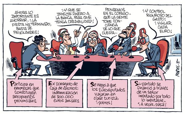 Izquierda, derecha, indignados. El capital, bien, gracias. 04-Octubre-11blog