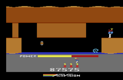 H.E.R.O. – Seja o herói neste incrível jogo do Atari. Hero-11