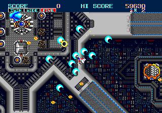 Thunder Force II – A estreia da famosa série espacial no Mega Drive. Thunder-force-2-3