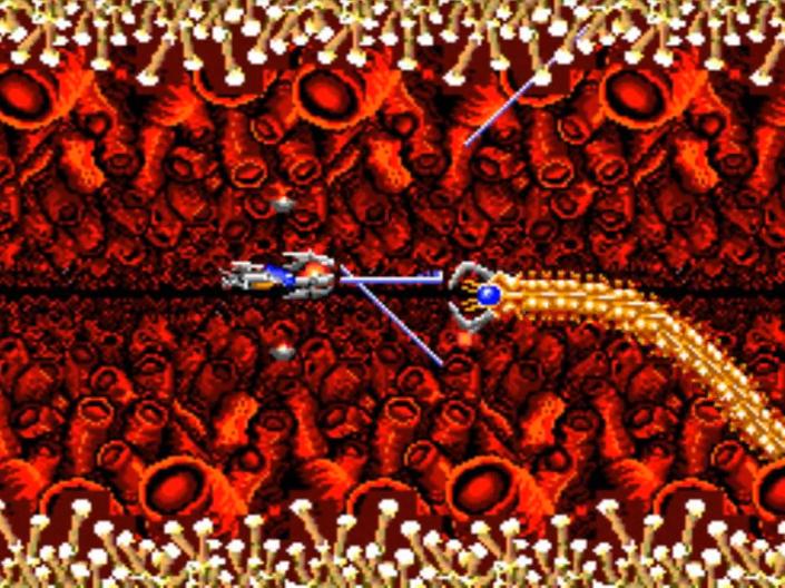 R-Type – Intensas batalhas espaciais na tela do Master System! R-type-4