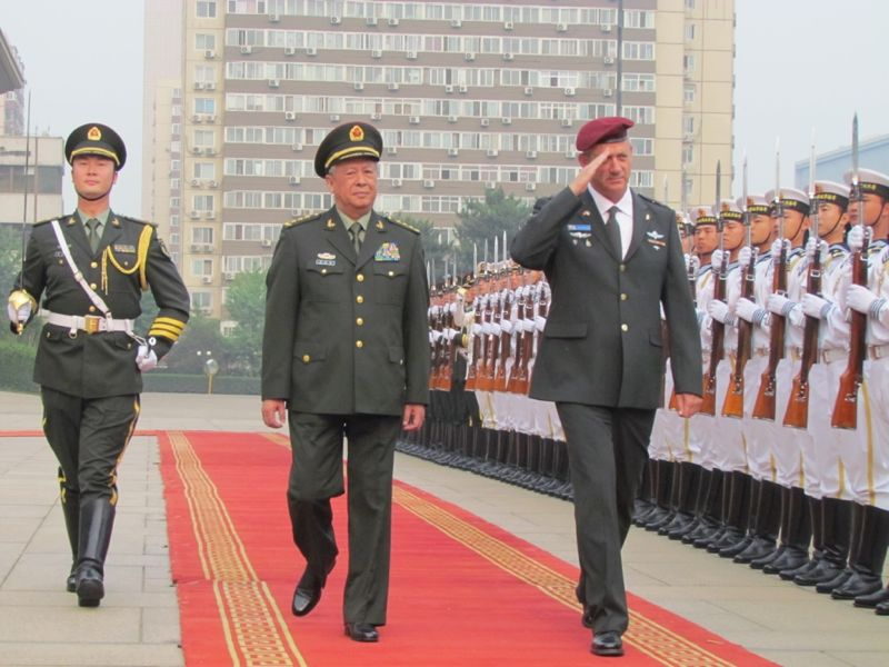 Israel:Economie, contrats d'armements, R&D, coopération militaire.. - Page 36 Visite-chine