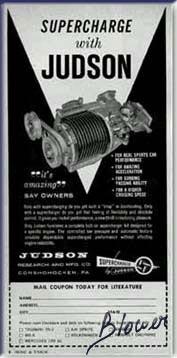 Culture générale : Superchargers vintage Judson1.2