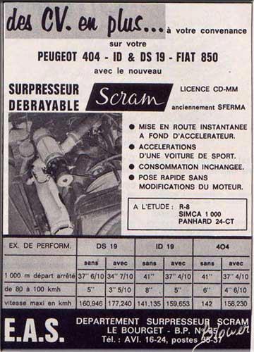 Culture générale : Superchargers vintage Scram1
