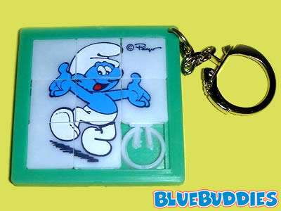 le point sur Dieu!!  - Page 6 Smurfs_Slide_Puzzle_Game_Happy_Smurf_Keychain