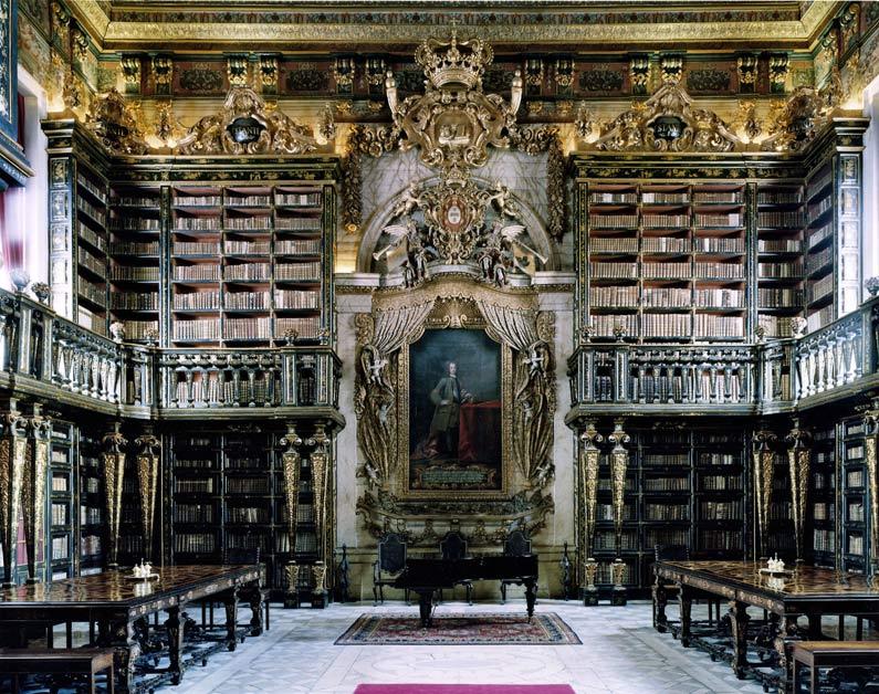 Najlepše biblioteke na svetu The-university-of-coimbra-general-library-coimbra-portugal