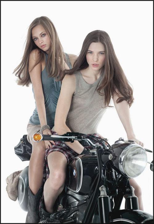 belles filles et belles motos BmwPinUp01