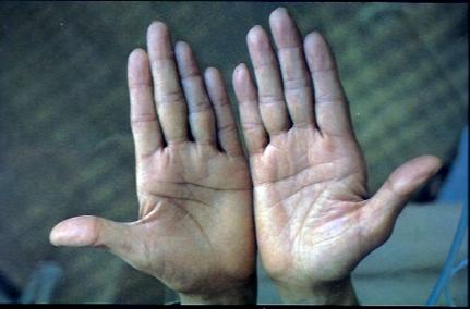 J Krishnamurti Hands