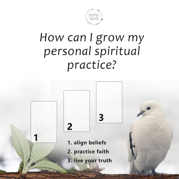 ¿Cómo puedo hacer crecer mi práctica espiritual personal? 05-20-18