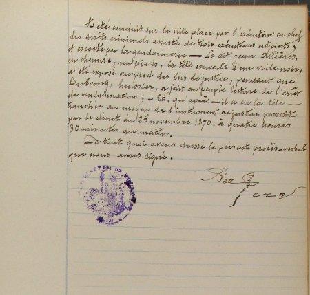 Jean Allières - guillotiné à Toulouse - 1901 - Page 2 Allieres5