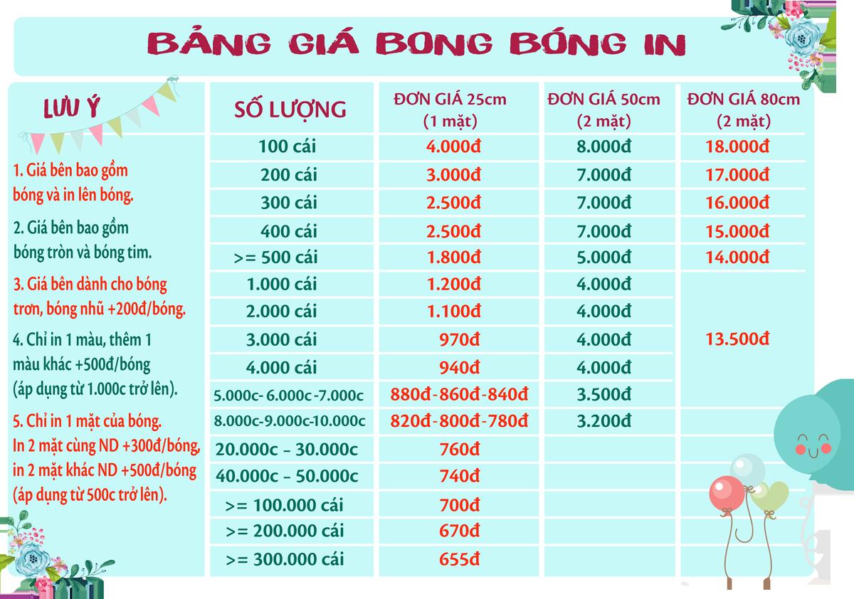 Bong bóng in quảng cáo sản phẩm Bang-gia-bong-bong-in
