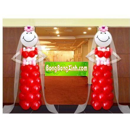Trụ bong bóng có thể làm cổng chào cho sự kiện cho bé 14006446850924-0511-tru-bong-bong-xinh-dep-074-trang-tri-party