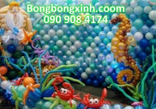 Tường bong bóng mang nhiều nét đẹp cho sự kiện của bé Goc_1396854197