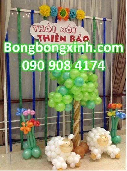 Trụ bong bóng sáng tạo và xinh đẹp cho ngày tết trung thu Goc_1396860048