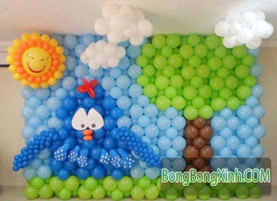Tường bong bóng thích hợp cho mọi sự kiện cho bé Goc_1403578580