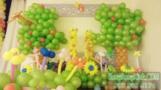 Bong bóng tạo hình ngộ nghĩnh và độc đáo cho sinh nhật bé Goc_1425456732