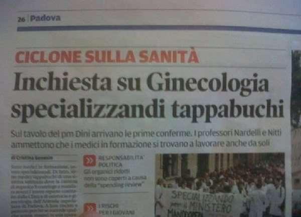 S.O.B. IMMAGINI DIVERTENTI, VIDEO STRANI E BIZZARRI - Pagina 34 Padova-inchiesta-su-ginecologia-specializzandi-tappabuchi
