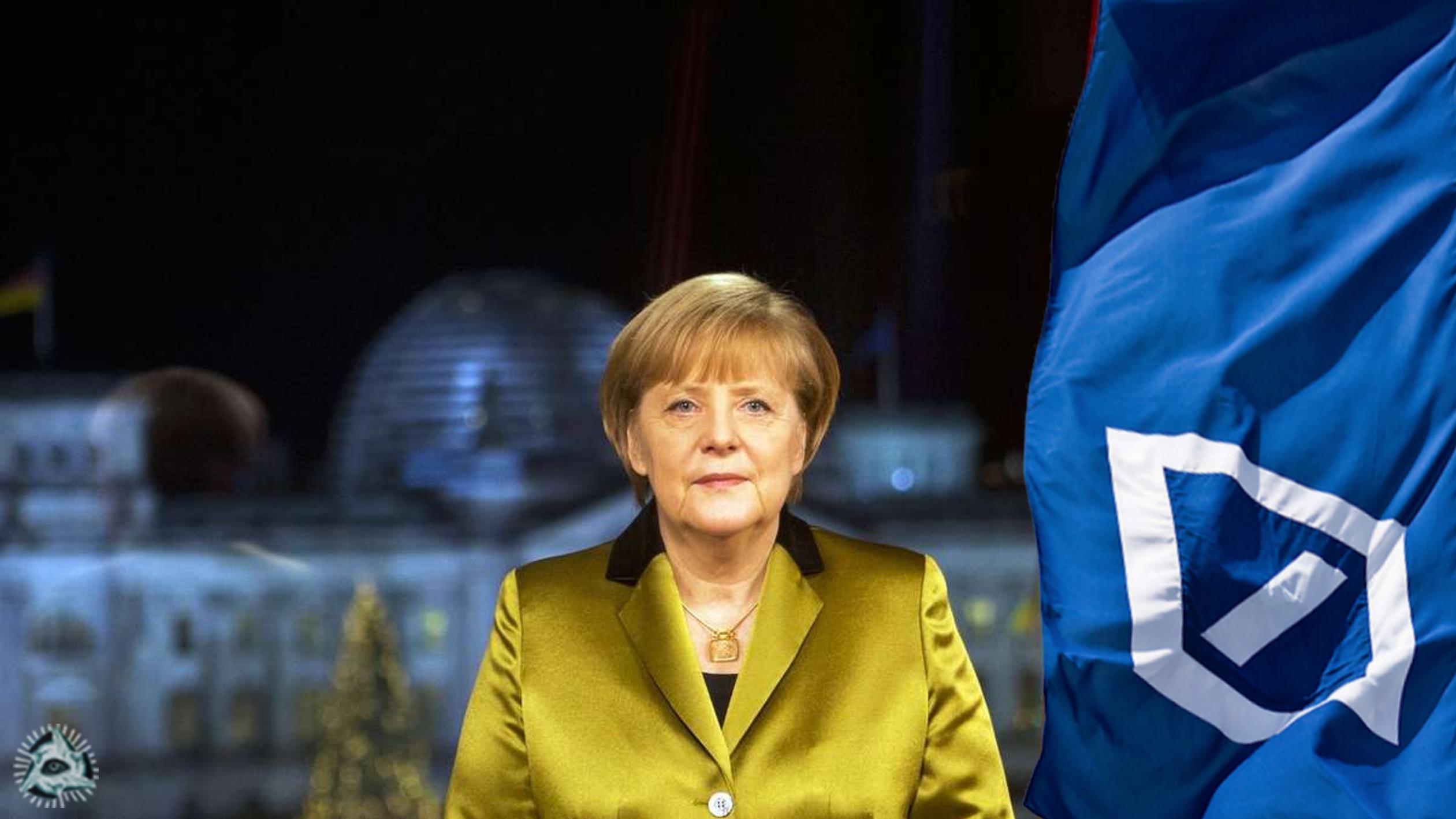 el Ðeµtsch€' se hace una redada Neujahrsansprache-2013-merkel-deutsche-Bank
