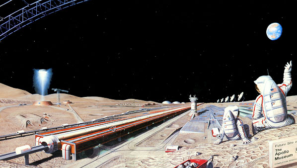 Blog - Born For Space Mass-driver-pat-rawlings-lunar-planetary-institute