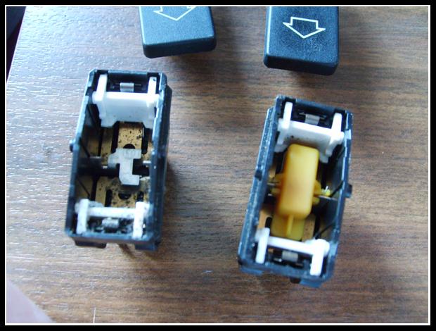 Eclairage des boutons de vitres électriques S5001593