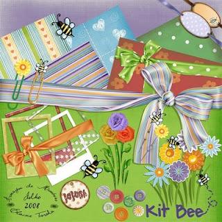 {Kits Digitais} Flores, Jardim, Primavera, Bichinhos de jardim - Página 2 Preview