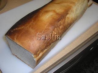 Pan de Molde Esponjoso  ( Saskia ) Panmolde