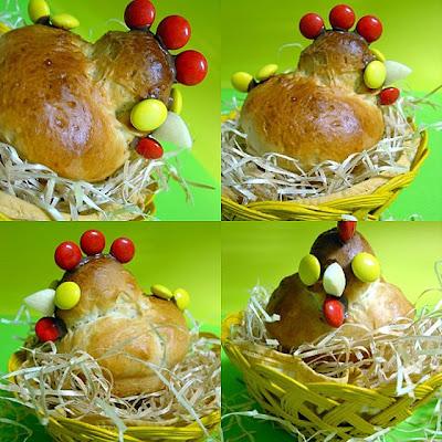 poule / poussin Colagem-2
